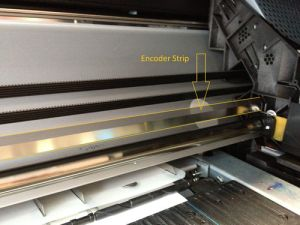 "New Encoder Strip 42""-Z6100 Designjet printer Q1273-60239-error code 87:01 86:01 1st Vall 4 Service Ltd Birmingham West Midlands UK"