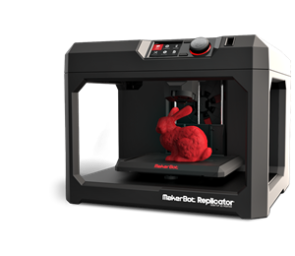 MakerBot Replicator 5th Gen FDM 3D Printer