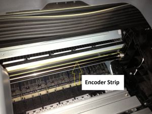 encoder strip 500
