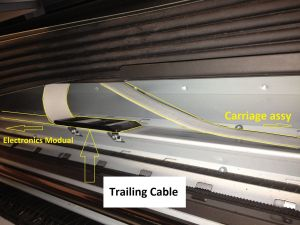Trailing cable 500